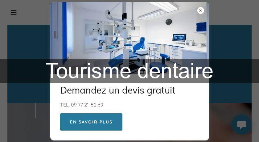 Tourisme dentaire Dentiste, Stomatologue