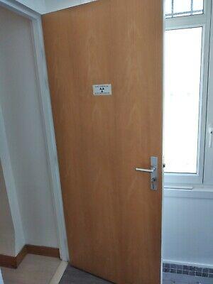 porte de cabinet dentaire / plombée pour radiologie